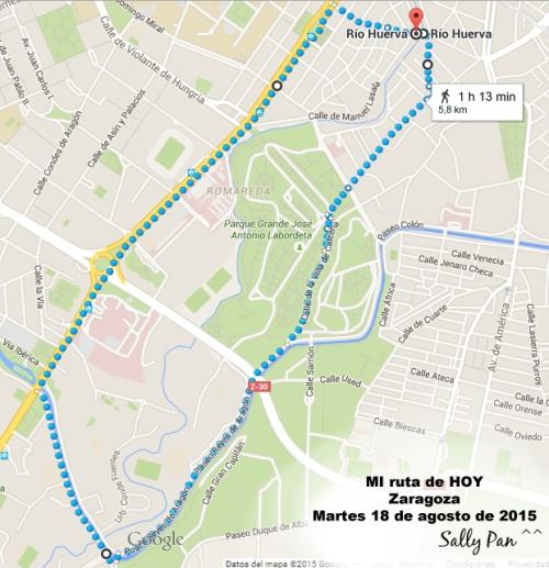 mi ruta de hoy 1