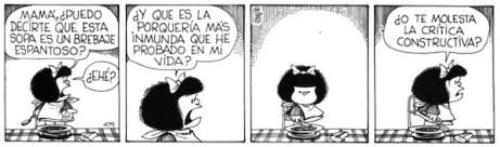 Mafalda critica constructiva